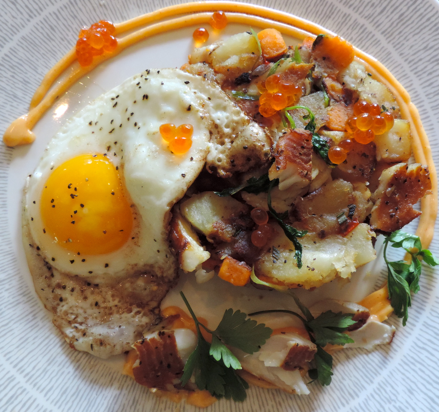 Smoked Trout Hash Recipe From The Emerson Resort & Spa In