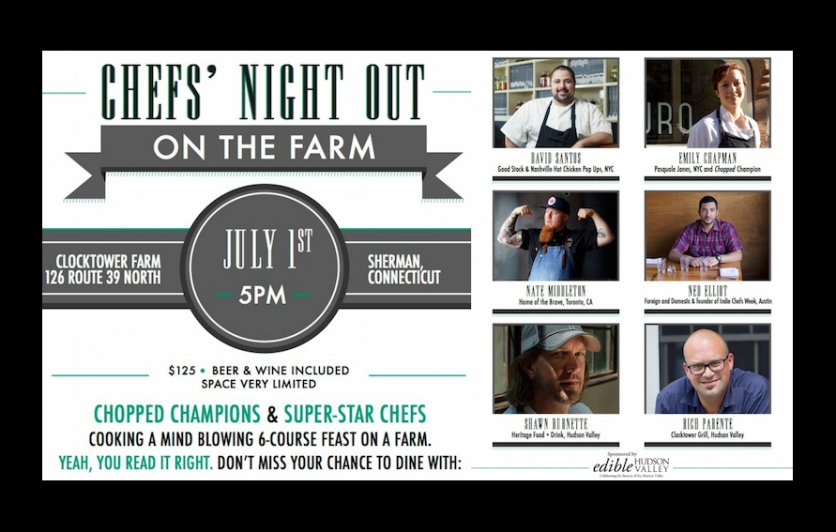 Chefs' Night Out on the Farm