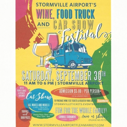 Stormville Airport's Wine, Cider, Food Truck, & Car Show