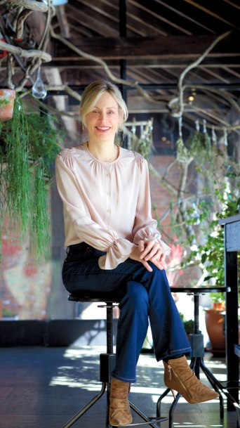 Design Direct and Co-Owner at Blue Hill & Blue Hill Stone Barns, Laureen Barber.