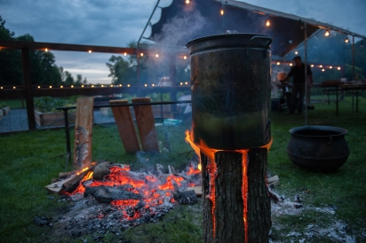 Swedish stoves from Fire Roasted Catering Great Barrington