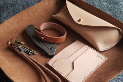 Vandalay Leatherworks​​​​​​ products made in the Hudson Valley.