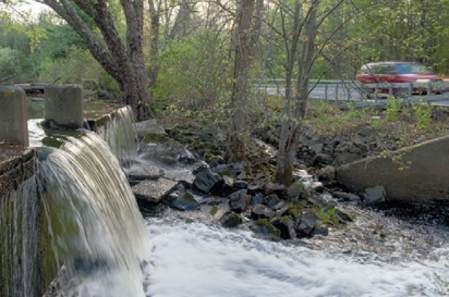 waterfall along route 212