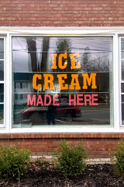 Nancy's Artisanal Creamery in Woodstock.