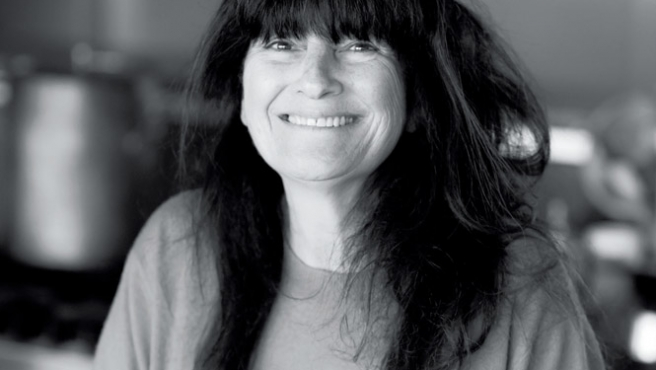 Ruth Reichl feels at home in the Hudson Valley.