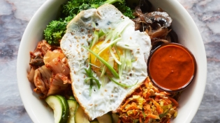 KOREAN BIBIMBAP from Sivia Woodstock New York Hudson Valley