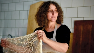 Owner of Raven and Boar Farm in East Chatham prepare charcuterie.